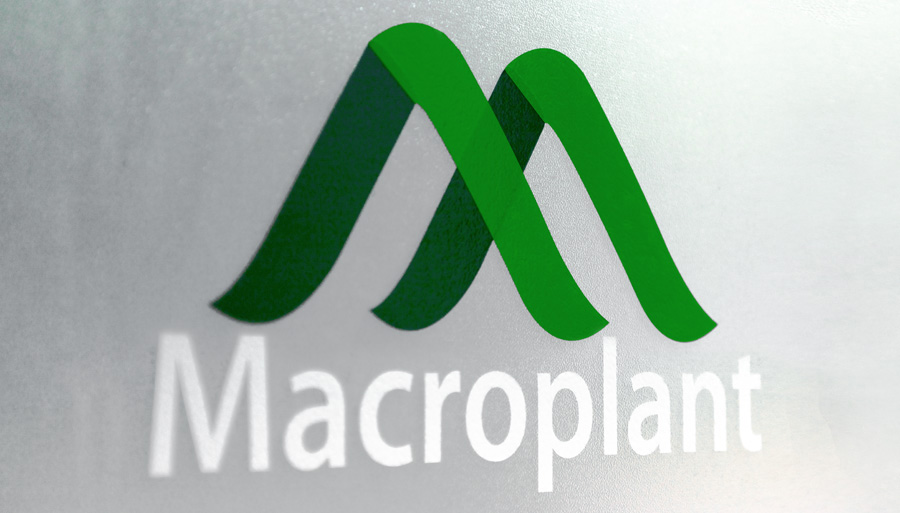Macroplant Door Decal