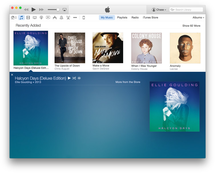 Transfer directly into iTunes with iExplorer