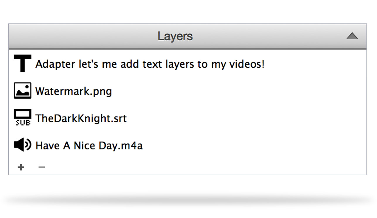 add subtitles, watermarks and overlays to video