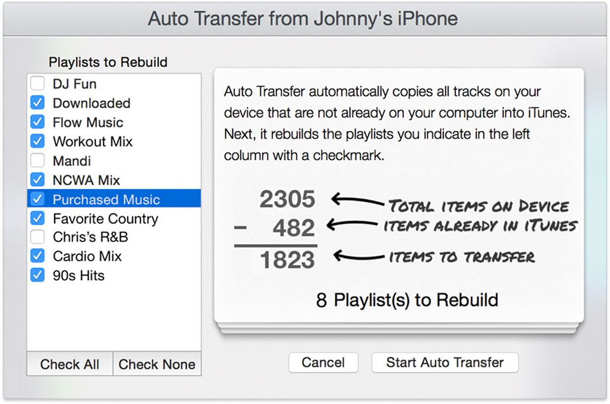 move playlist from itunes to iphone recover itunes library from iphone or ipod 8901